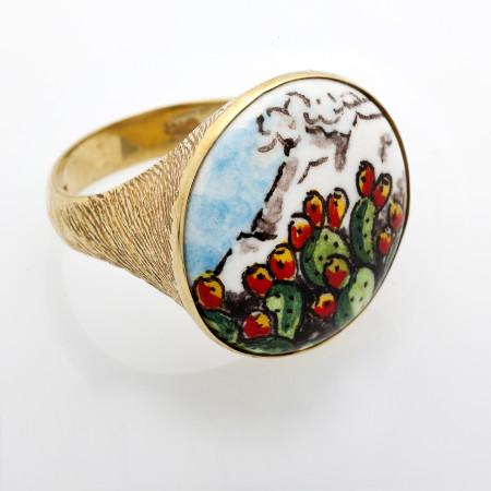 Sikania collection anello